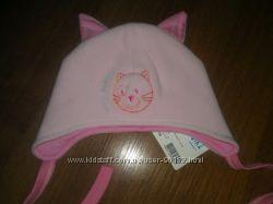 Уютная шапочка Кошечка