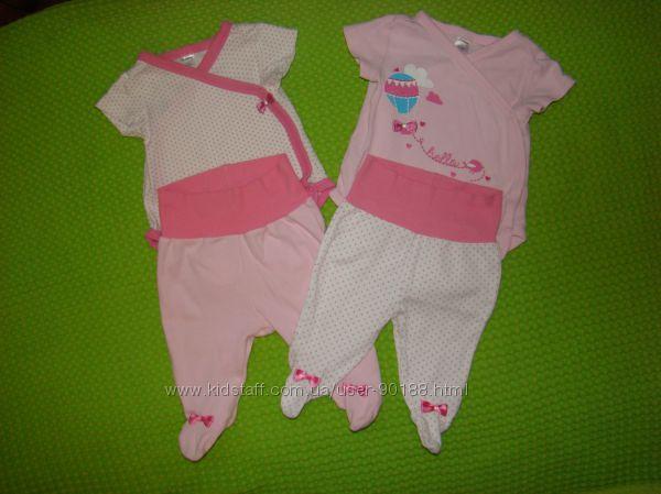 Нежные комплекты для принцессы LC WAIKIKI бодики и штанишки