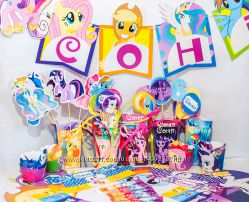 День Рождения в стиле  -- My Little Pony --