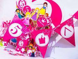 День рождения в стиле -- -- DISNEY - маленькие принцессы -- --
