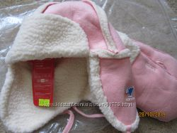 Шапка и рукавички для девочки Canoe
