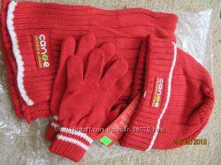 Шапка шарфик перчатки