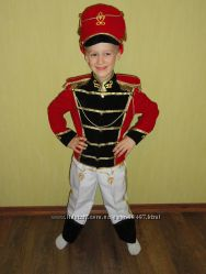 Костюм Гусара на мальчика 5-8 лет и 3-5 лет
