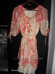 Платье летнее воздушное р. 46-50
