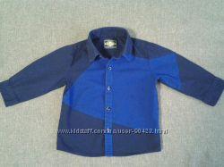 Рубашка Next с асимметричным дизайном, размер 9-12 мес.