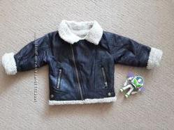 Куртка в стиле авиатор 12-18 мес, можно раньше