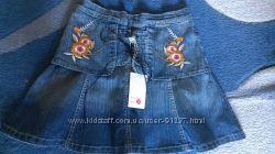 Новая джинсовая юбка с биркой, размер - S 38 р.
