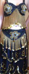 Шикарный костюм для восточных танцев