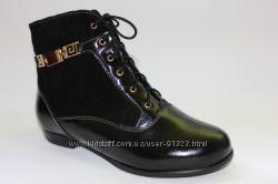 Демисезонные ботинки для девочек ТМ Каприз 31-36р.