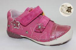 Кожаные кроссовки для девочек ТМ DDStep с защитой пальчиков 25, 26р.