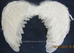 прокат крылья и нимб для ангелочка