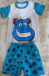 пижамки  BabyGap   в наличии  дональд, Китти, тигруля