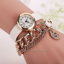 Роскошные часы-браслет - новые модели