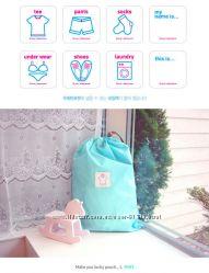 Мешок для хранения и перевозки обуви, одежды, мелких вещей