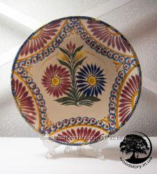 Коллекционная тарелочка henriot quimper 1935