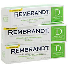 Rembrandt - отбеливающая зубная паста 2 шт