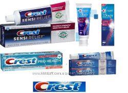 Лечебные зубные пасты и ополаскиватели Crest. Часть 2