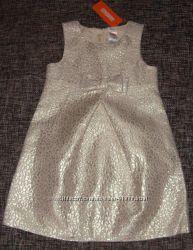Золотое нарядное платье от Gymboree
