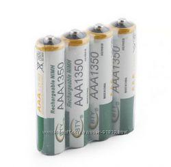 Аккумуляторы ААA 1350 mAh 1. 2v Ni-MN х 4 шт.