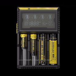 Nitecore D4 - универсальное зарядное устройство