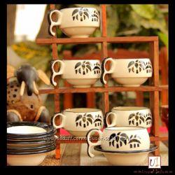 Индийский чайный сервиз