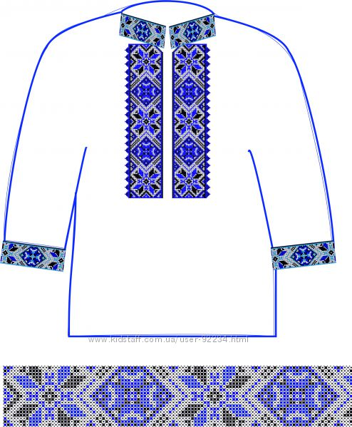 схемы вышиванки белое на белом
