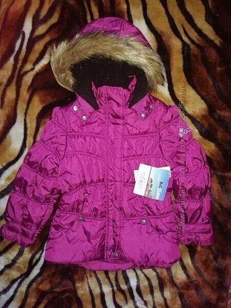 Легкая но теплая куртка с вышивкой от BIG CHILL FREESTYLE 6Х color MGT
