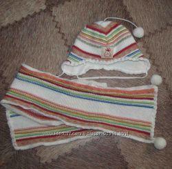 шапка и шарф Wojcik 62размер