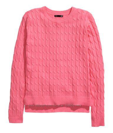 Яркие модные джемперы и свитеры H&M