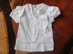 Нові  блузки  104-110р