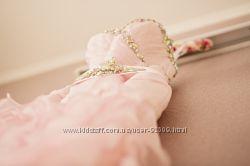 Оригинальное стильное свадебное вечернее платье