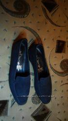 Туфли, нубук размер 38