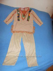Карнавальный новогодний костюм Индеец Скво на возраст 5-8 лет Прокат