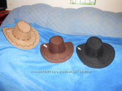 Шляпы ковбойские  разные цвета  Новые