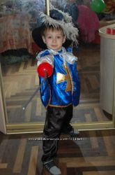 Костюм карнавальный новогодний Мушкетер Морячка Вересень Сентябрь Прокат