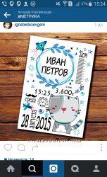 Постер Метрика по вашему пожеланию