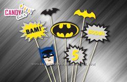 Набор больших топперов Бетмен