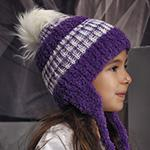 Фантазийная пряжа с помпоном на шапочку YarnArt Nancy baby 4 цвета
