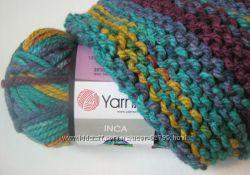 Толстая пряжа для вязания Инка Inca YarnArt