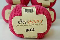 Пряжа Inka Fibranatura натуральная шерсть