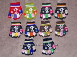 Новые перчатки и варежки есть женские и детские
