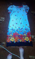 Красивое летнее платье.