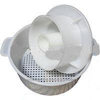 Форма для формирования и прессовки сыра в комплекте с поршнем