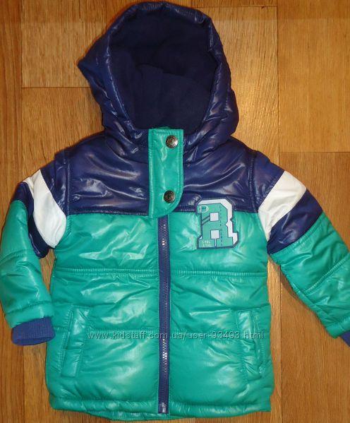 Детские теплые курточки rebel финальная распродажа