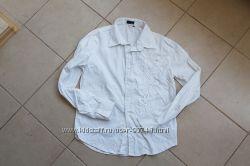 Рубашка белая с вышивкой нарядная