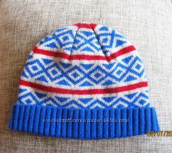 Стильная шерстяная шапочка Sela размер 52. Состояние новой