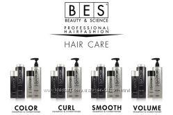 BES шампуни и бальзамы для выпрямления, тонких, окрашенных и вьющихся волос