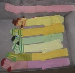 Колготки деткам - разные цвета, распродажа остатков