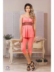 Женская пижама из вискозы. М-39 Violet Delux