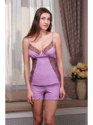 Пижама женская. М-10 сирень Violet delux